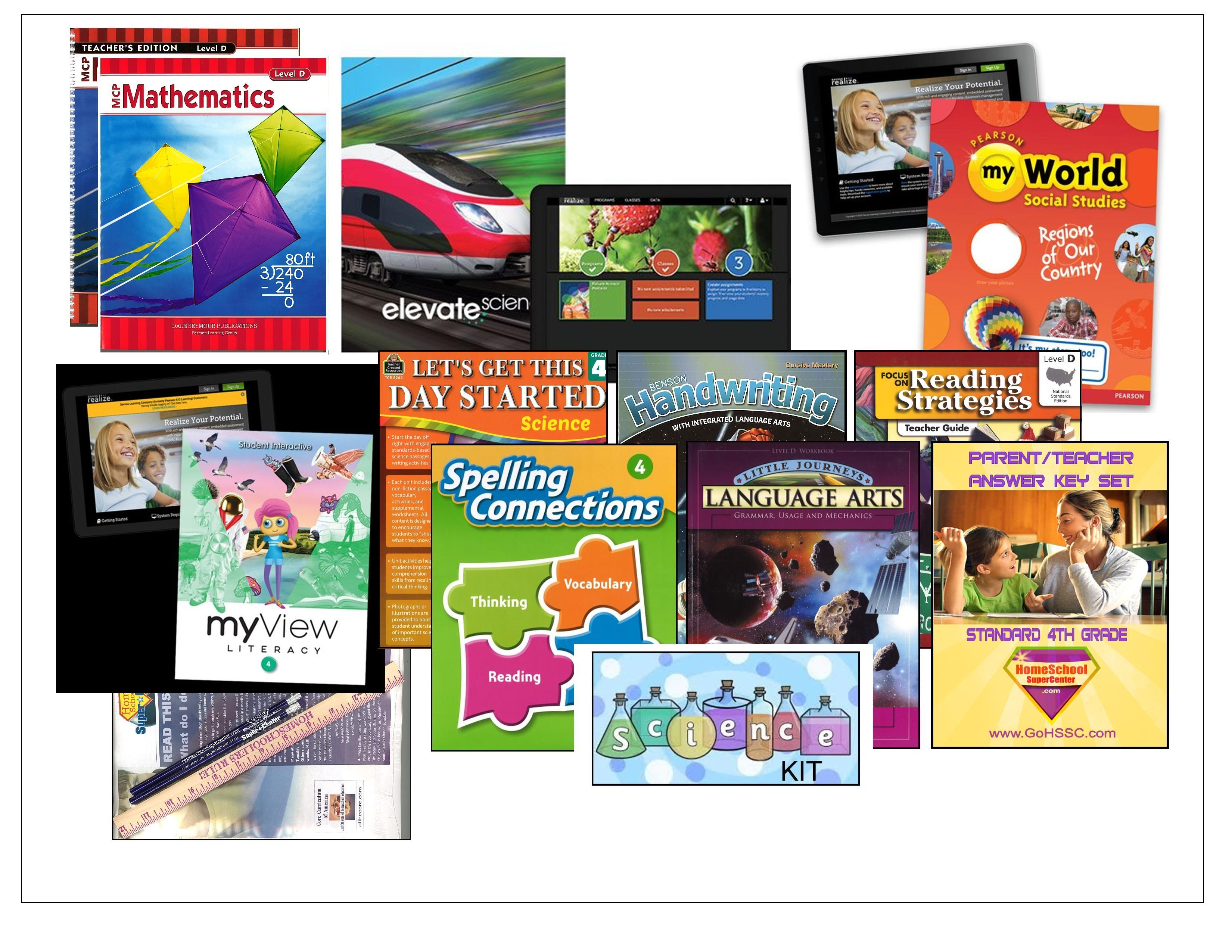 4th Grade Curriculum Bundle - Standard