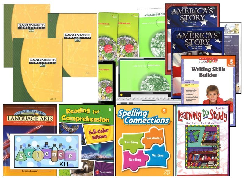 5th Grade Curriculum Bundle - Standard