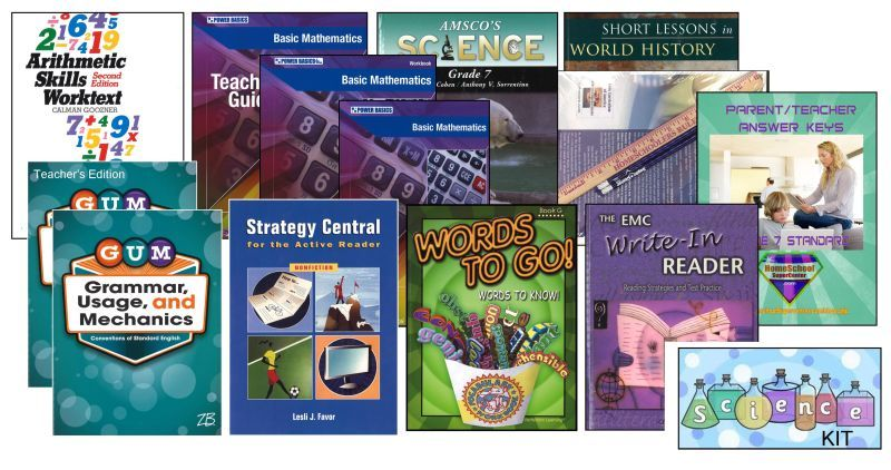 7th Grade Curriculum Bundle - Standard