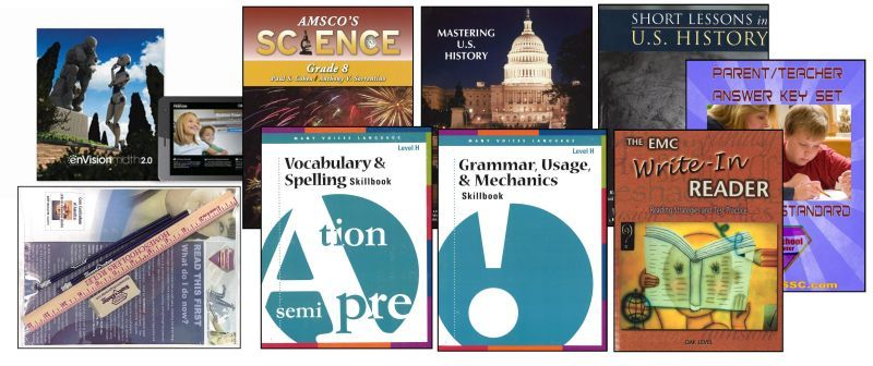 8th Grade Curriculum Bundle - Standard