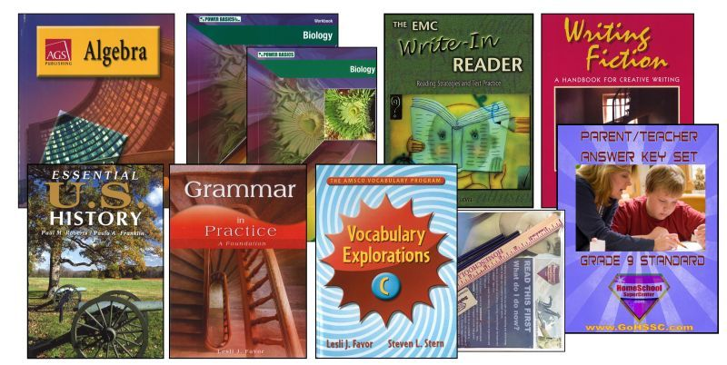 9th Grade Curriculum Bundle - Standard