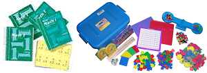 Saxon Math - Grade 1 Home Study Bundle w/Manipulatives