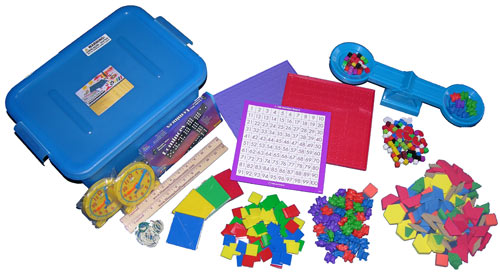 Saxon Manipulatives - Required For Saxon Math Grades K-3