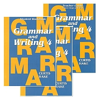 Saxon Grammar & Writing 1st Edition Grade 4 Bundle