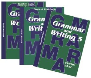 Saxon Grammar & Writing 2nd Edition Grade 5 Bundle