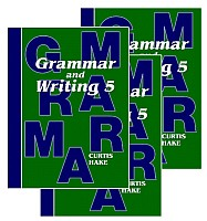 Saxon Grammar & Writing 1st Edition Grade 5 Bundle