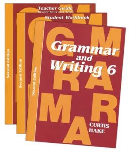Saxon Grammar & Writing 2nd Edition Grade 6 Bundle