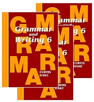 Saxon Grammar & Writing 1st Edition Grade 6 Bundle