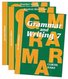 Saxon Grammar & Writing 2nd Edition Grade 7 Bundle