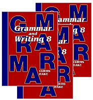 Saxon Grammar & Writing 1st Edition Grade 8 Bundle
