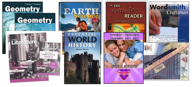 10th Grade Curriculum Bundle - Standard