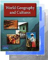 Pearson/AGS World Geography & Cultures Bundle - Grades 7-12