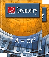 Pearson/AGS Geometry Bundle w/Solutions Manual