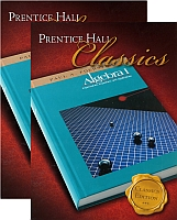 Algebra 1 HONORS SET w/Student Edition & Solutions Manual by Pre