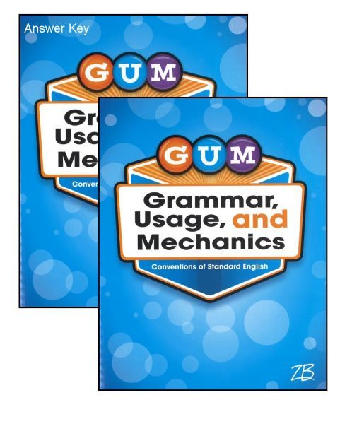 G.U.M. Grammar Usage & Mechanics Bundle - Grade 4