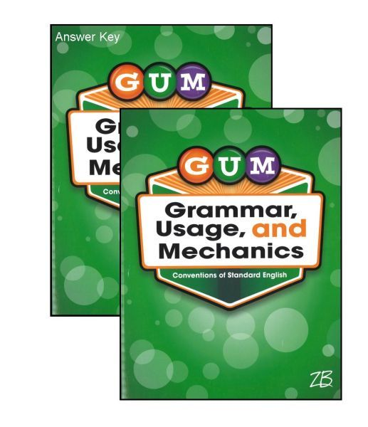 G.U.M. Grammar Usage & Mechanics Bundle - Grade 5