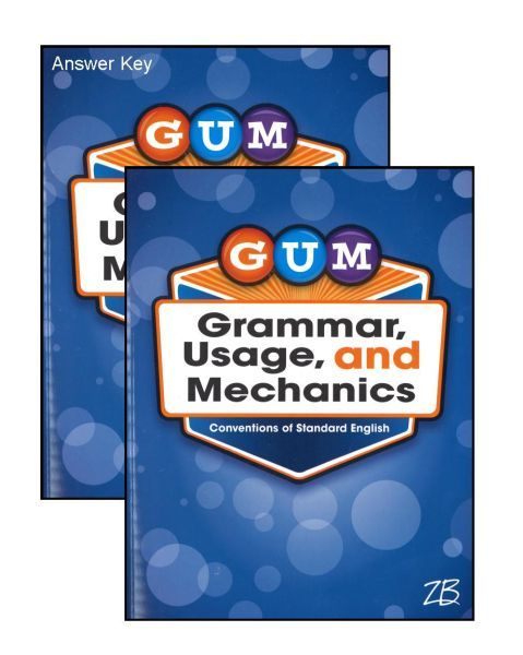 G.U.M. Grammar Usage & Mechanics Bundle - Grade 8