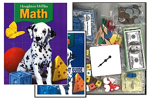 Houghton Mifflin Math - Grade 1 Bundle w/Manipulatives