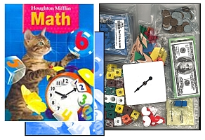 Houghton Mifflin Math - Grade 2 Bundle w/Manipulatives