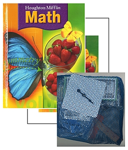 Houghton Mifflin Math - Grade 3 Bundle w/Manipulatives