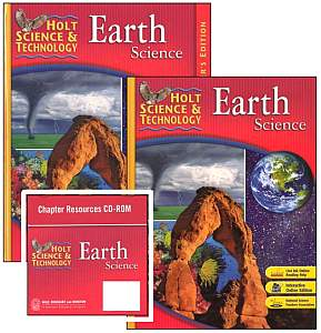 EARTH SCIENCE Bundle - Grades 6-8 w/Teacher Edition