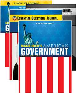Magruders American Government Bundle - Grades 9-12