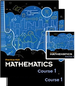 Prentice Hall Math Course 1 - Grade 6 Bundle