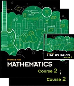 Prentice Hall Math Course 2 - Grade 7 Bundle