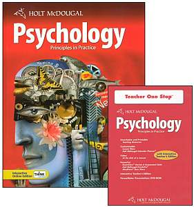 PSYCHOLOGY KIT -Principles in Practice- w/Student Textbook & Tea