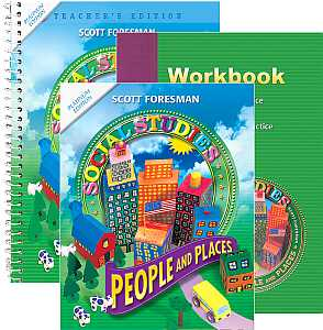 Social Studies Grade 2 KIT People & Places w/Student Text, Work