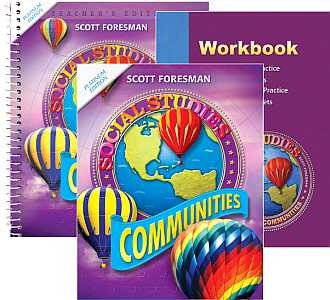 Social Studies Grade 3 KIT -Communities- w/Student Text, Workbo