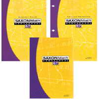 Saxon Math 87 Bundle - Grade 7/8