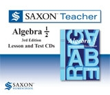 Saxon Math Teacher - Algebra 1/2 Tutor CD