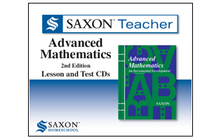 Saxon Math Teacher - Advanced Math Tutor CD