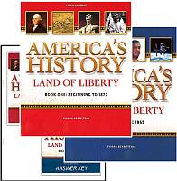 Land of Liberty Workbook Bundle - Grades 7-12
