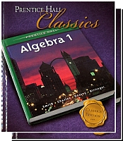 Prentice Hall Algebra 1 CLASSICS Edition Bundle