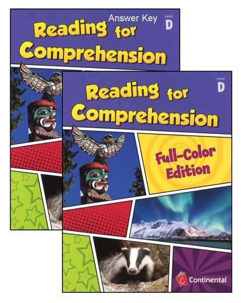 Reading For Comprehension Level D Grade 4 Bundle