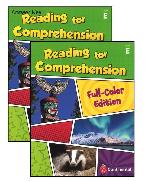 Reading For Comprehension Level E Grade 5 Bundle