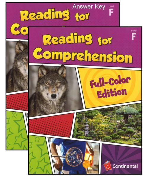 Reading For Comprehension Level F Grade 6 Bundle