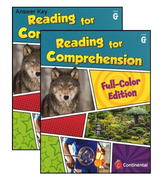 Reading For Comprehension Level G Grade 7 Bundle