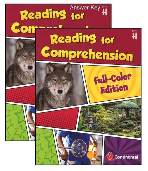 Reading For Comprehension Level H Grade 8 Bundle