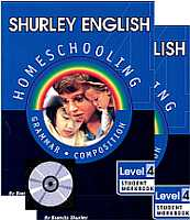 Shurley English Level/Grade 4 Homeschool Bundle