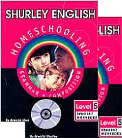 Shurley English Level/Grade 5 Homeschool Bundle