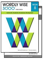 Wordly Wise 3000 3rd Edition Grade 6 Bundle