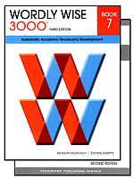 Wordly Wise 3000 3rd Edition Grade 7 Bundle