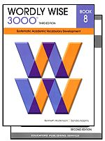 Wordly Wise 3000 3rd Edition Grade 8 Bundle