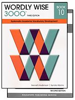 Wordly Wise 3000 3rd Edition Grade 10 Bundle