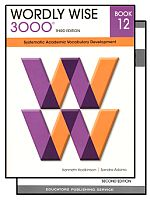 Wordly Wise 3000 3rd Edition Grade 12 Bundle