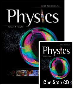 PHYSICS KIT w/Student Textbook & Teacher's 1Stop CD-ROM by Holt