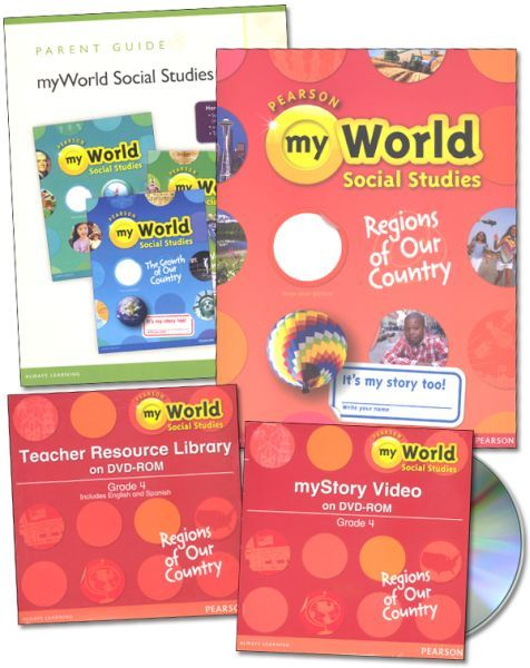 myWorld Social Studies - Grade 4 Homeschool Bundle